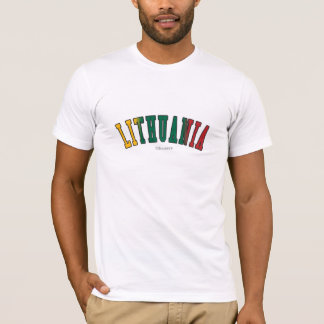 Lithuania in national flag colors T-Shirt