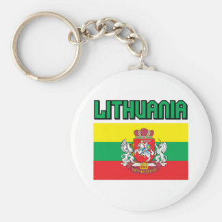 Lithuania Key Ring