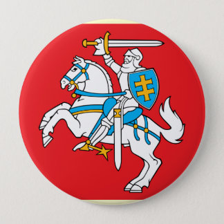 Lithuania , Lithuania 10 Cm Round Badge