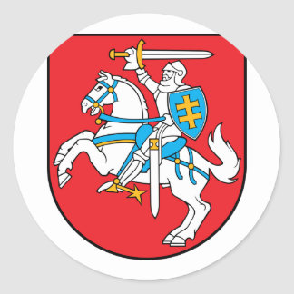 Lithuania, Lithuania Classic Round Sticker