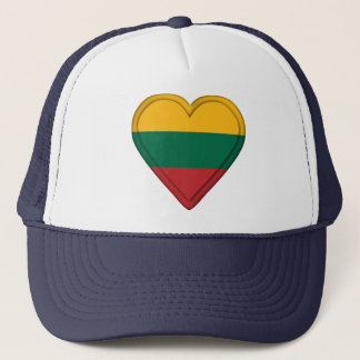 Lithuania Lithuanian  flag Trucker Hat
