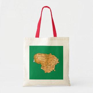 Lithuania Map Bag