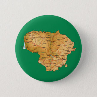 Lithuania Map Button