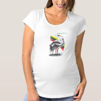 Lithuania Maternity T-Shirt