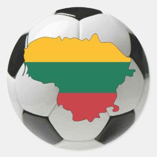 Lithuania national team classic round sticker