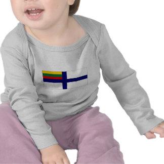 Lithuania Naval Ensign Flag Tshirt