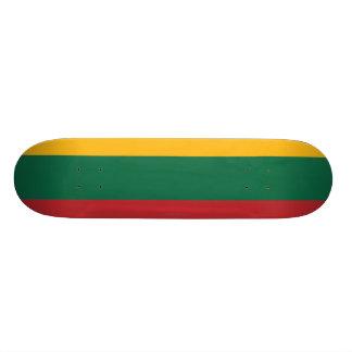 Lithuania Plain Flag Skate Board Decks