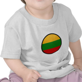 Lithuania quality Flag Circle Shirt