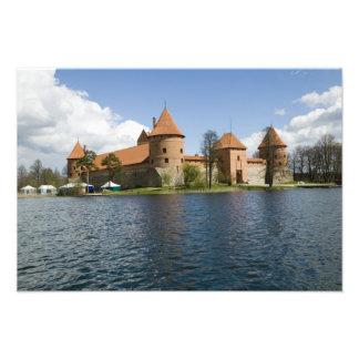 Lithuania, Trakai. Island Castle 3 Photo Art
