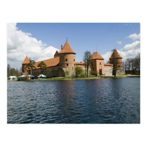Lithuania, Trakai. Island Castle 3 Postcard