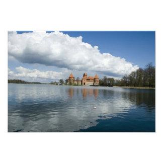 Lithuania, Trakai. Island Castle Photograph