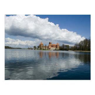 Lithuania, Trakai. Island Castle Postcard