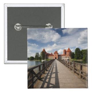 Lithuania, Trakai, Trakai Historical National 15 Cm Square Badge