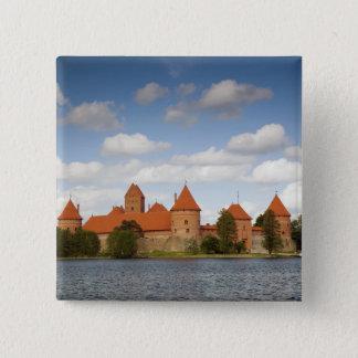 Lithuania, Trakai, Trakai Historical National 2 15 Cm Square Badge