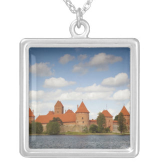 Lithuania, Trakai, Trakai Historical National 2 Silver Plated Necklace