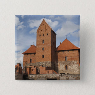 Lithuania, Trakai, Trakai Historical National 3 15 Cm Square Badge