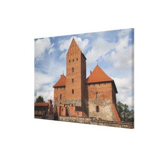 Lithuania, Trakai, Trakai Historical National 3 Canvas Print