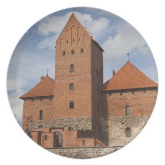 Lithuania, Trakai, Trakai Historical National 3 Plate