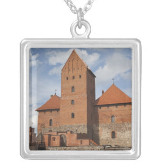 Lithuania, Trakai, Trakai Historical National 3 Silver Plated Necklace