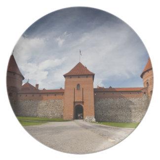 Lithuania, Trakai, Trakai Historical National 4 Plate