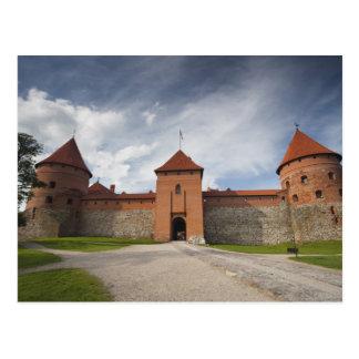 Lithuania, Trakai, Trakai Historical National 4 Postcard