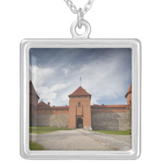 Lithuania, Trakai, Trakai Historical National 4 Silver Plated Necklace