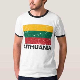 Lithuania Vintage Flag T-Shirt