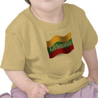 Lithuania Waving Flag Shirts
