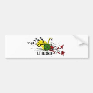 Lithuanian attributes bumper sticker