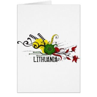 Lithuanian attributes greeting cards