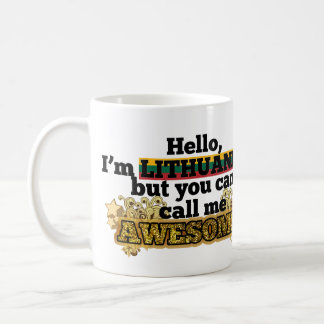 Lithuanian, but call me Awesome Coffee Mug