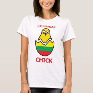 Lithuanian Chick T-Shirt