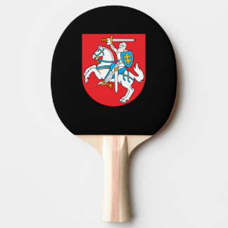 Lithuanian coat of arms ping pong paddle