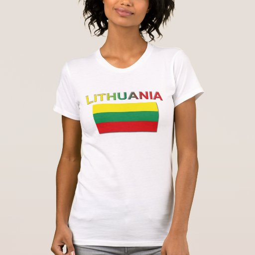 Lithuanian Flag 4 T Shirt