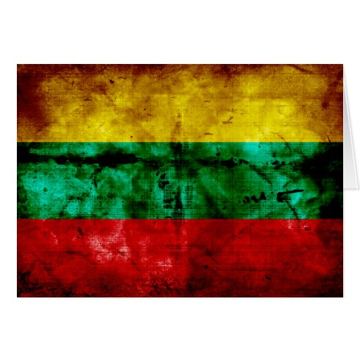 Lithuanian Flag Greeting Cards