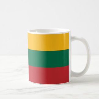 Lithuanian flag mug