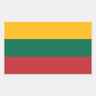 Lithuanian Flag Rectangular Sticker