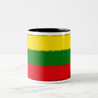 Lithuanian Flag Two-Tone Mug