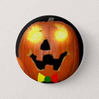 Lithuanian Halloween Pumpkin Button