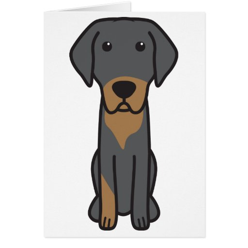 Lithuanian Hound Dog Cartoon Greeting Cards