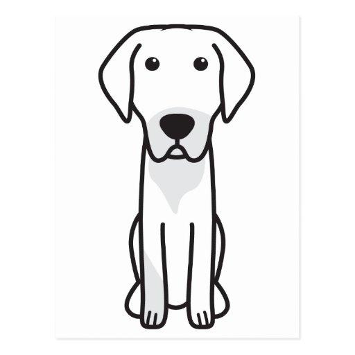 Lithuanian Hound Dog Cartoon Postcards