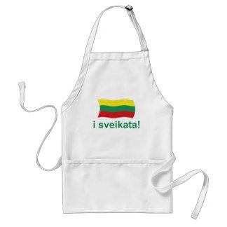 Lithuanian i sveikata! (Cheers!) Standard Apron