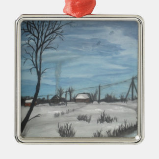 lithuanian winter christmas ornament