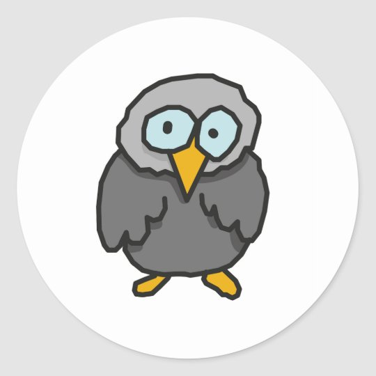Litle bird classic round sticker