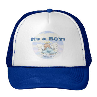 Litlle Baby Boy - Angel sent from above Trucker Hat
