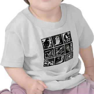 Lito birds - Birds Etching T-shirt