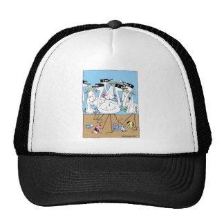 Litter Announcement Mesh Hat