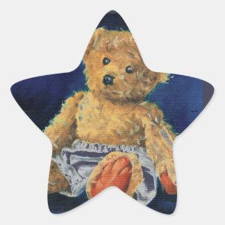 Little Acorn, a Favourite Teddy Star Sticker