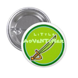 Little Adventurer 3 Cm Round Badge