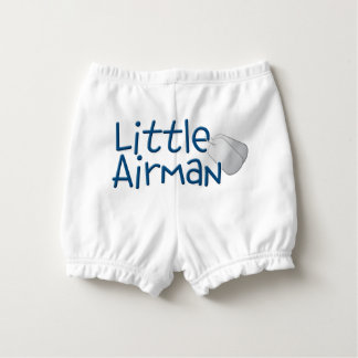 Little Airman Nappy Cover